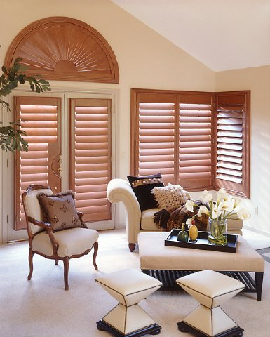 custom window shutters in home in charlotte nc